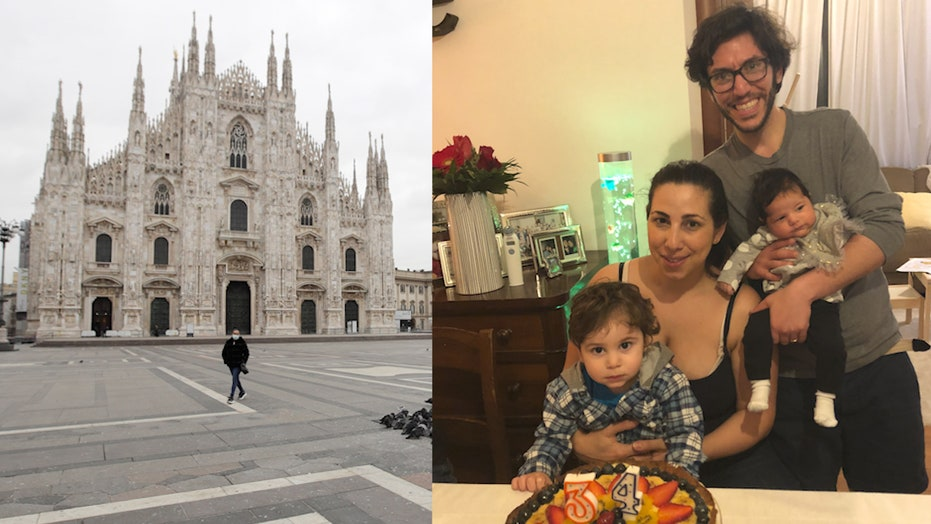 Exclusive: Italian family offers glimpse of what quarantined life in a locked-down country is like