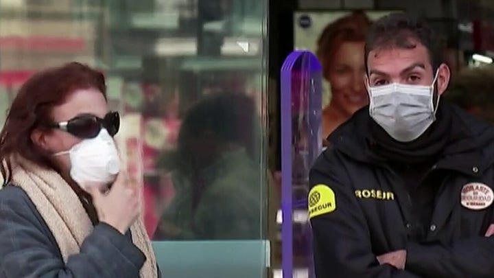 Coronavirus outbreak escalates in Europe, Spain officials say deaths almost double in a day