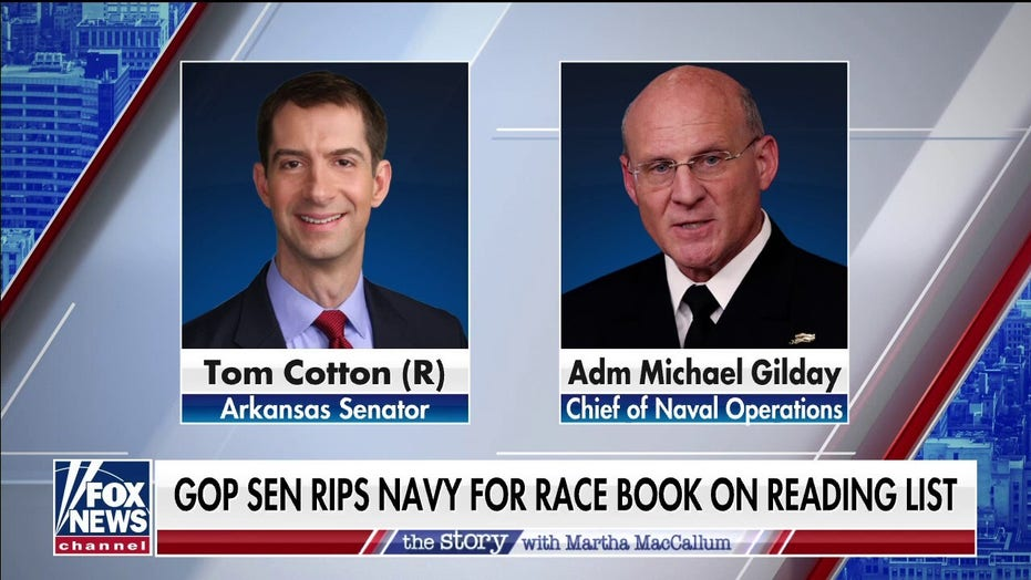Hegseth: Pentagon's Gilday 'infected' ensigns' reading list with activist book by 'anti-racist' Kendi