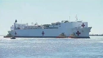 US Navy hospital ship Mercy set to dock in Port of Los Angeles