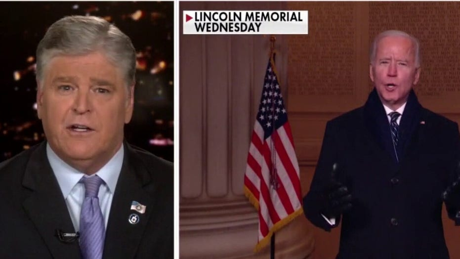 Hannity: Biden's 'unity' pledge 'rings more hollow than ever' with economy-crushing orders