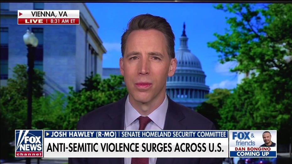 Sen. Hawley: Left's 'incendiary rhetoric' on Israel has to stop