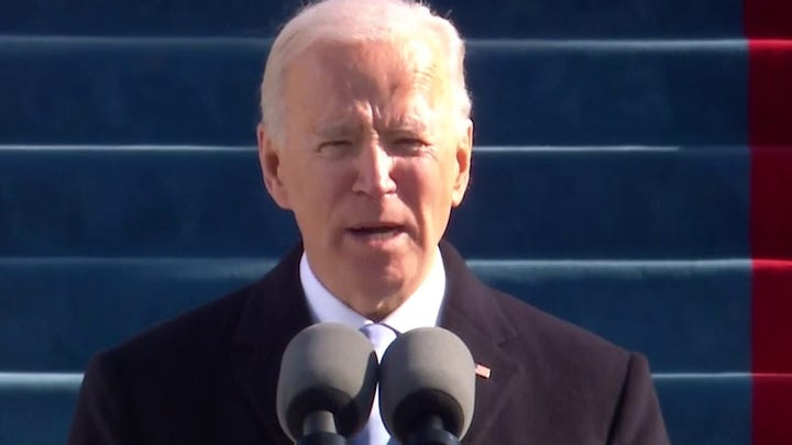 Biden's calls for unity in inaugural address sends ominous message