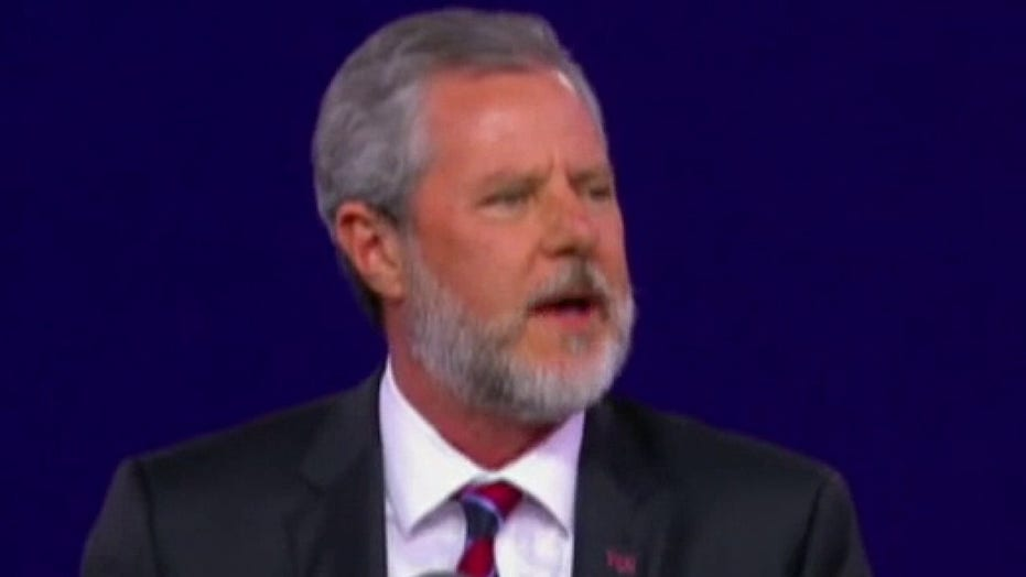 Jerry Falwell Jr. resigns as president of Liberty University
