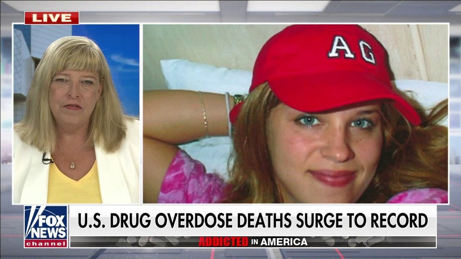 Biden border policies have allowed drugs to flood into US as overdose deaths hit new record: Angel mom