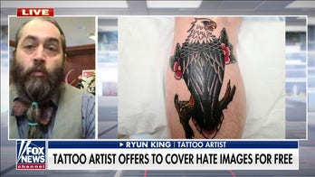 Tattoo artist offers to cover hate images for free