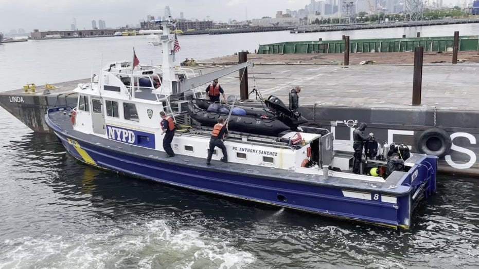 NYPD Harbor Unit preps for the Fourth of July