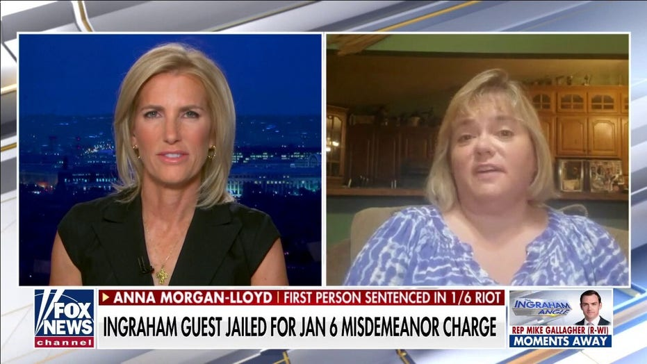 Indiana grandmother, first to be convicted in Capitol riot cases, avows nonviolence in Ingraham interview