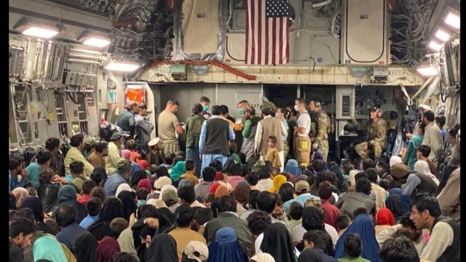 Air Force crew helps Afghan woman deliver healthy baby girl on flight to freedom
