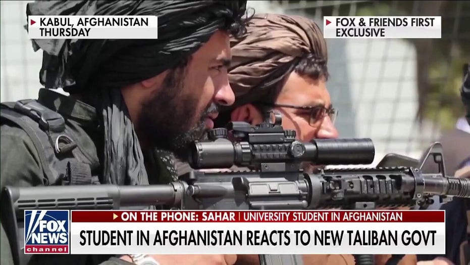 Female student in Afghanistan on Taliban control: 'They are trying to imprison us once again'