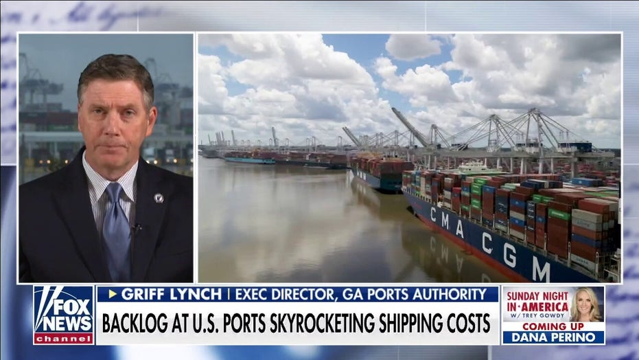 Trey Gowdy warns of US port congestion, supply chain crisis for the holiday season