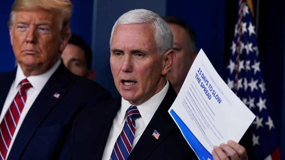 Member of Vice President Pence's staff tests positive for coronavirus