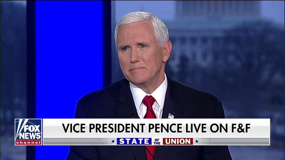 Mike Pence: Nancy Pelosi hit a 'new low' by tearing up SOTU speech