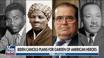 Biden cancels plans for Garden of American Heroes