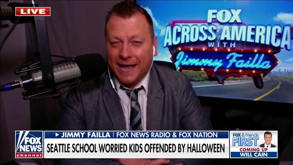 Jimmy Failla on school cancelling Halloween parade over inclusivity: 'What a dumb time to be alive'