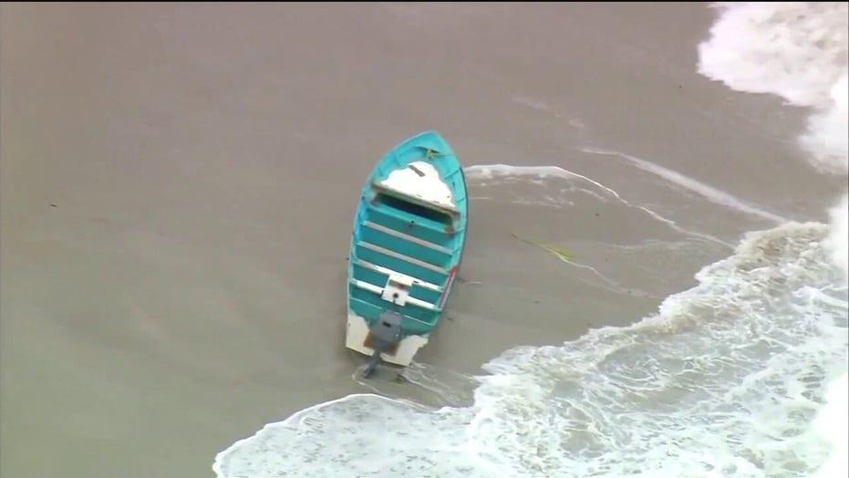 Smuggling boat capsizes off California coast; 1 dead, 15 migrants in custody