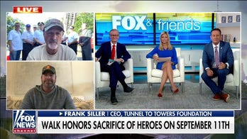 Tunnel to Towers CEO to finish 537-mile walk honoring heroes on Sept 11