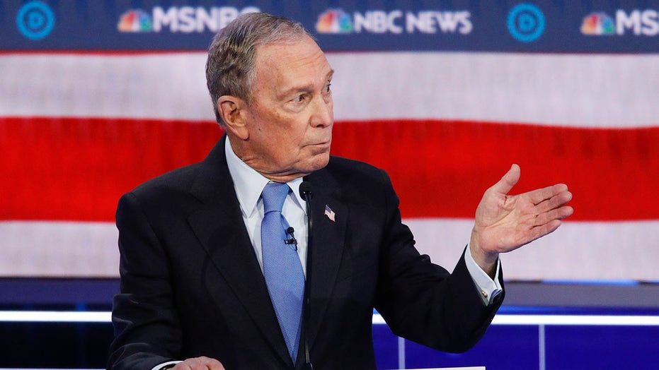 Bloomberg down but not out after his first Democrat debate?