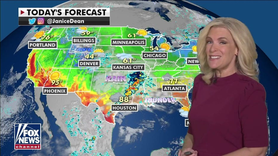 National weather forecast: Flash flooding risk for Gulf Coast, Carolinas