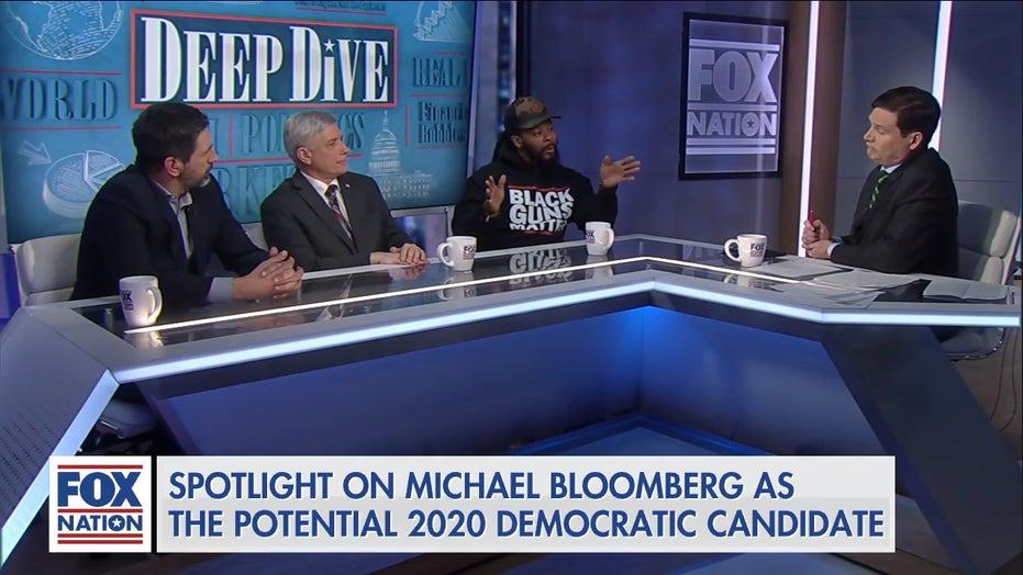 """Super-frisk is their name"": Black Guns Matter founder mocks potential Bloomberg-Clinton ticket"