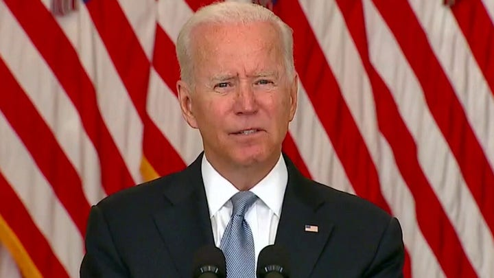 Biden claims Afghan leaders and military 'gave up' amid Taliban return