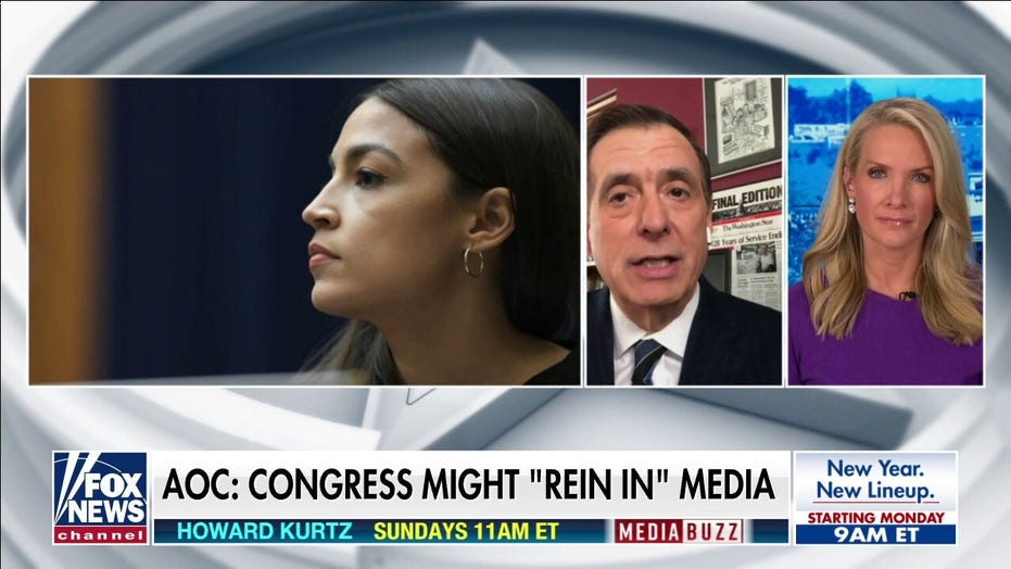 Kurtz responds to AOC: 'I don't want some federal commission deciding what is false'