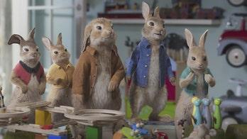 James Corden returns as Peter Rabbit in the new adorable adventure now in theaters