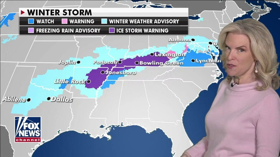 Ice storm hits eastern US, bringing dangerous travel conditions