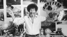 Bob Ross' time in the Air Force influenced him in 'The Joy of Painting,' pal says