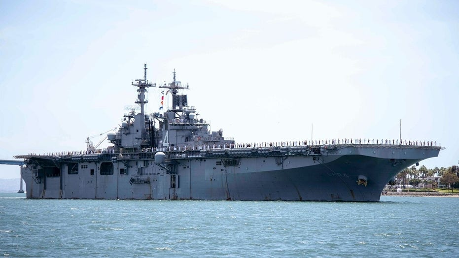 Navy sailor aboard warship tests positive for coronavirus