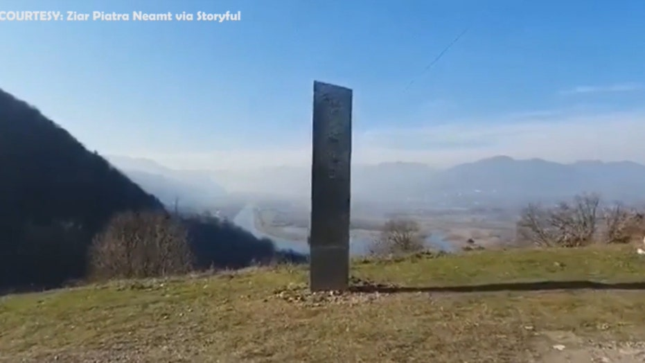 Mysterious monolith appears near ancient site in Romania