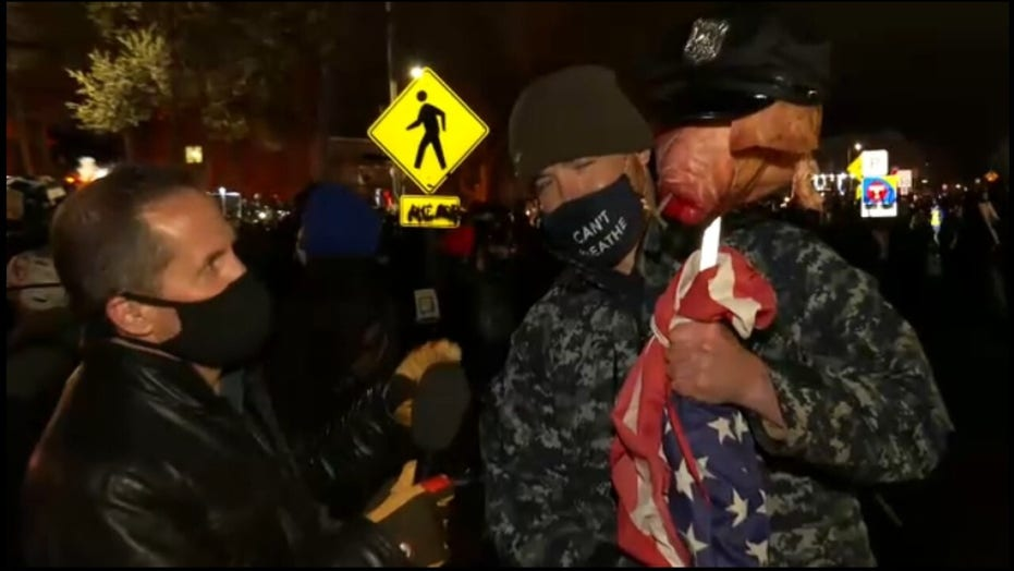 Minnesota protester tells Fox reporter: Only way things change is 'if people start throwing things'