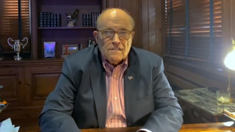 Rudy Giuliani blames current NYC Mayor for spikes in violent crime and adopting a 'pro-criminal, anti-police philosophy'