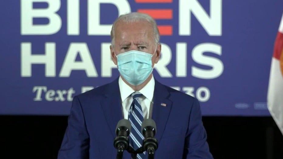 Joe Biden acknowledges past court-packing position