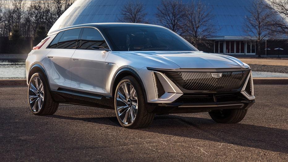 Electric Cadillac Lyriq revealed
