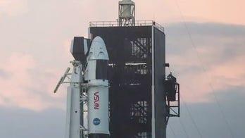 Astronauts prepare for historic SpaceX launch