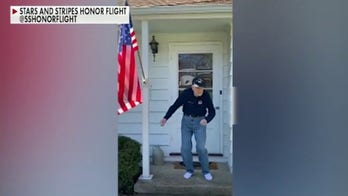 WWII veteran dances through COVID-19 quarantine
