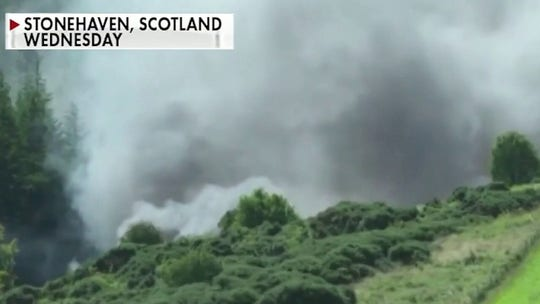 3 killed in Scotland train derailment