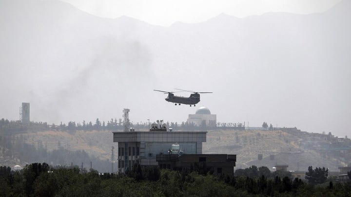 The American presence is gone in Afghanistan: 报告