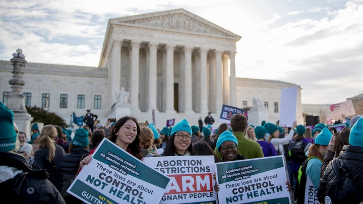 Supreme Court hears first major abortion case of Trump administration