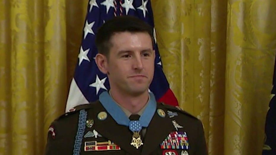 Sgt. Major Thomas Payne receives nation's highest military award