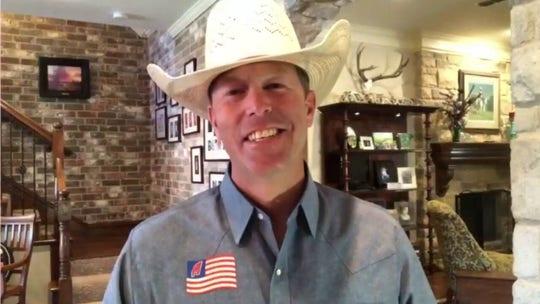 Texas cowboy on gymnastics routine stunning social media