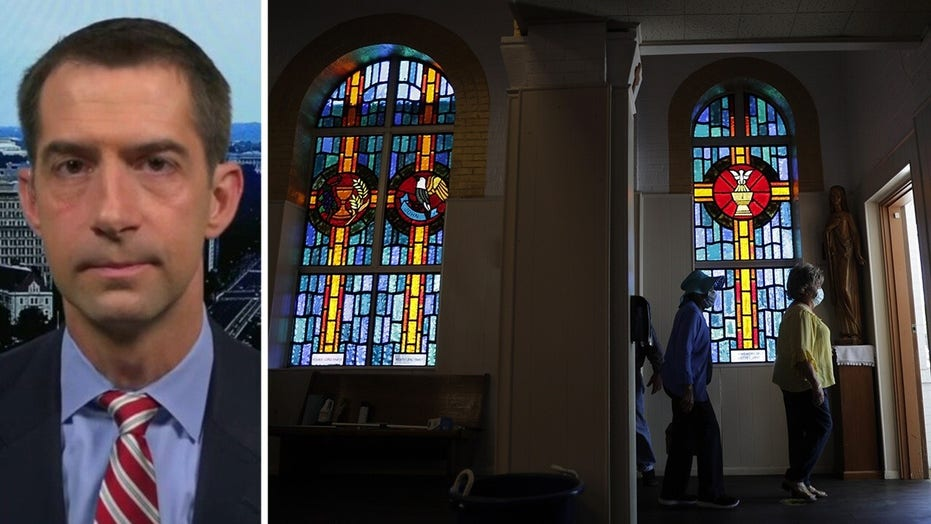 Sen. Cotton: It's time to let people go back to worship with their congregations