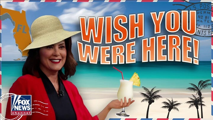 Michigan Gov. Whitmer went to Florida after warning citizens not to