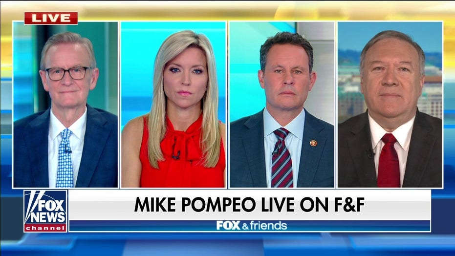 'Tragic' to see Biden admin 'flip switch' and reverse Trump policies at border: Mike Pompeo