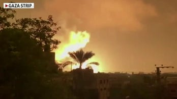 Israel launches launches airstrikes on Gaza strip in retaliation for rocket attack