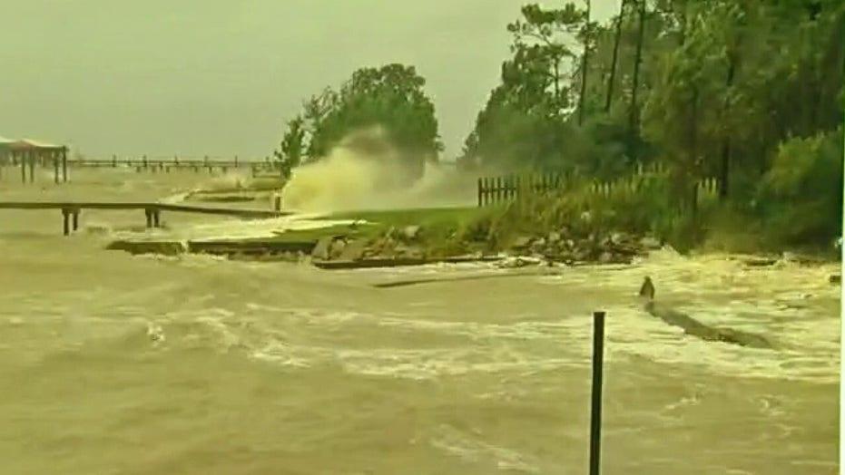 Slow-moving Hurricane Sally brings flood concerns to Gulf Coast