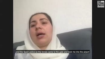 Afghan journalist, women's rights activist describe fleeing Taliban with help from Spanish reporter