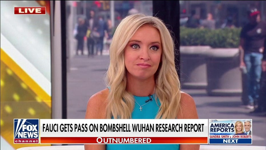 McEnany on bombshell Wuhan lab report: Dr. Fauci 'can't be truthful'