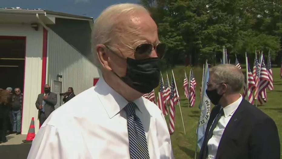 Biden defends Afghanistan withdrawal on 9/11 anniversary: 'How else could you get out?'